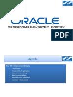Oracle R12 AR Receivables Enhancement - Overview