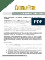 2014-02-24 Medric Cecil Mills Jr.'s Son to Testify - The Cochran Firm Press Release