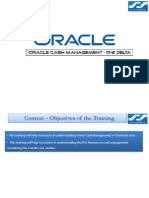 Oracle R12 CE Cash Management New Features