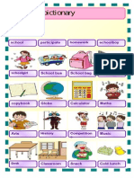 School- material for young learners- English