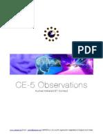 CERPER - CE-5 Observations