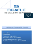 Oracle R12 Legal Entity concepts