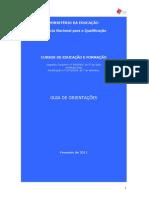 Guia de Orientação CEF - ANQ