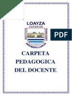 Entregar Carpeta Pedagogica a Coordinadores