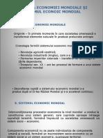 Evolutia Economiei Mondiale Si Sistemul Econoic Mondial