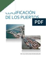 Clasificacion de Los Puertos