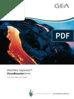 Westfalia Separator Visco Booster Unit en 9997 0787 030