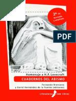 Broncano y Fernández- HP Lovecraft. Cuadernos del abismo