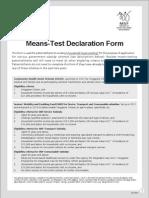 hhmt declaration form jan 14