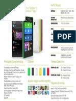 Especificaciones Nokia X+