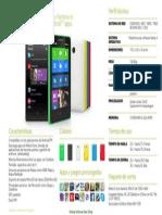 Especificaciones Nokia X