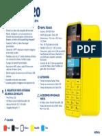 Nokia 220 - Ficha Técnica
