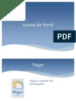 Iconos de Word