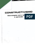 Constructivismo Estrategias Para Aprender a Aprender