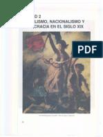 Unidad 2 - Socialismo, Nacionalismo y Democracia s. XIX