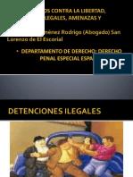 Delitos Contra La Libertad Derecho Penal Especial