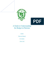 A Guide to Understanding the Budget in Pakistan (English)