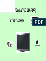 Panasonic Vt20t Series Fhd 3d Plasma Display 2010 Viera Training Seminar