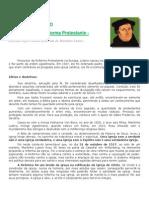 Aniversario Da Reforma Protestante