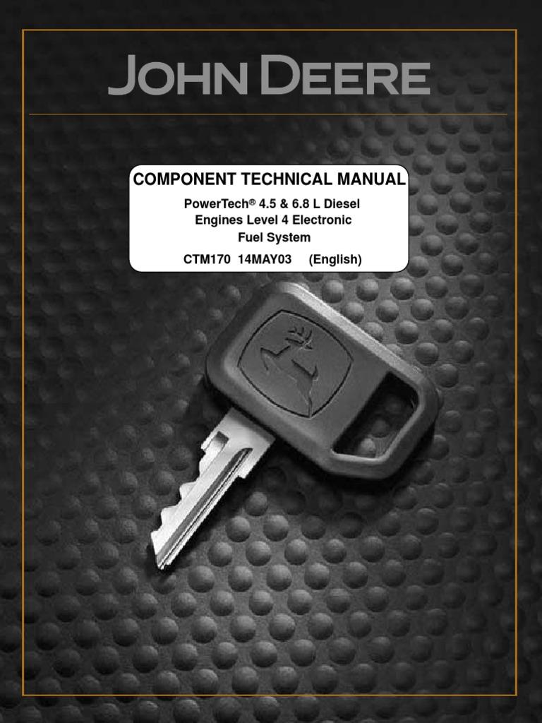 service manual 6068 may 03 diesel fuel biodiesel rh scribd com john deere 6068 repair manual john deere 6068 engine repair manual