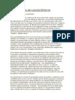 Gustavo Fernández - LA EMBESTIDA DE LOS ESCÉPTICOS