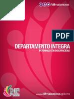 Departamento Integra - Personas con Discapacidad DIF