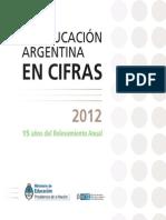 2012 Educacion Argentina en Cifras INTERIOR