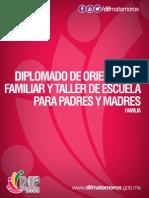 Diplomado de Orientación Familiar y Taller Escuela para Padres y Madres - Familias DIF