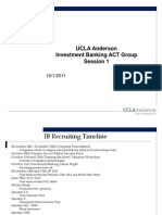 Investment Banking Preparation Week 1