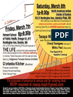 Rise Up! 2014 Celebration, March 7 and March 8th