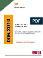 Normas Coelce - Infra Estrutura