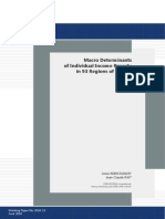 CEPS Macro Determinants of Individual Income Poverty In