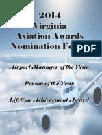 2014 Virginia Aviation Nomination Pkg