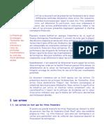 Evaluation Des Actions