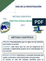 Método científico 2011