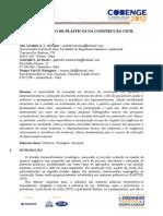 A UTILIZAÇÃO DE PLÁSTICOS NA CONSTRUÇÃO CIVIL
