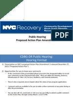 Amendment 5 Public Hearings Presentation