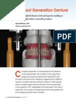 The Next Generation Denture 36 Journal