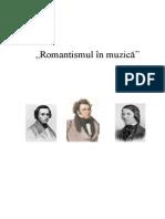 Romantismul in Muzica Referat 2013 Sem 1