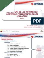 Estructura de los Informes de Auditoría