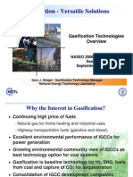Gasification - Versatile Solutions