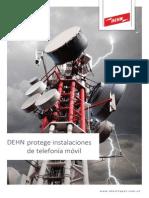 DEHN Protege Instalaciones de Telefonia Movil