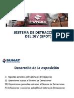 Sistema de Detracciones 2013