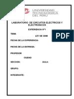 Informe Ley de Ohm (1)