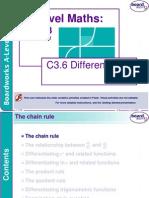 c3.6 Differentiation