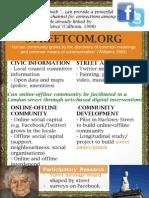 Streetcom.org by Caroline Halcrow