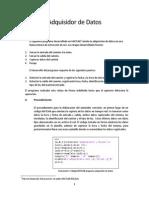 Documentación - Adquisidor Datos - Matlab