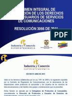 PRESENTACIÓN CRC 3066 DE 2011 COMPLETA