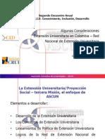 Presentación Extensión -  CID