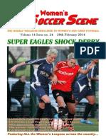 Women's Soccer Scene No. 24 2013-14